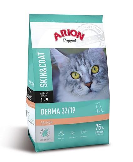 Karmy suche dla kota - Arion Original Cat Derma Salmon