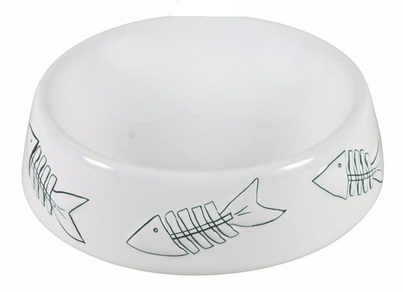 Miski i akcesoria do misek - Trixie miska ceramiczna dla kota 0,2l