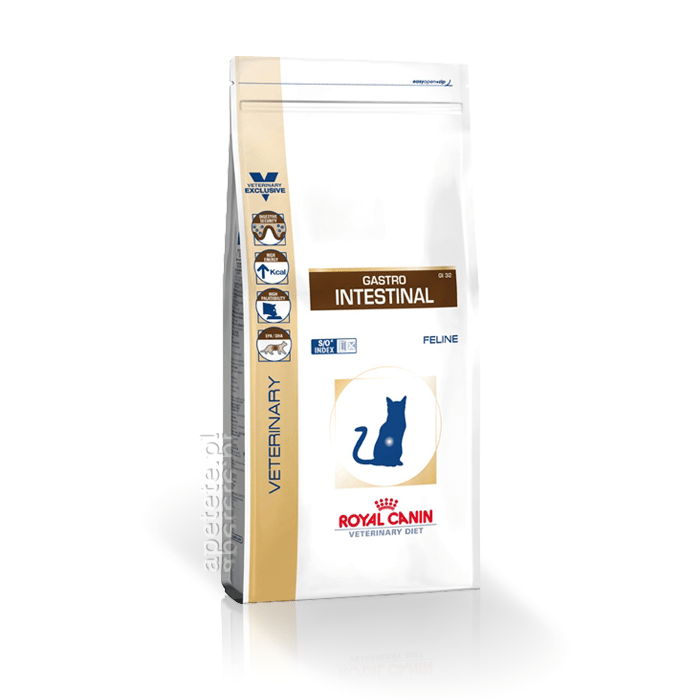 Karmy suche dla kota - Royal Canin Veterinary Diet Feline Gastro Intestinal GI32