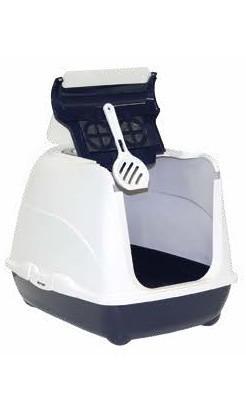 Kuwety, łopatki dla kota - Yarro Moderna Toaleta Flip z filtrem [rozmiar 2] 45x58x42cm