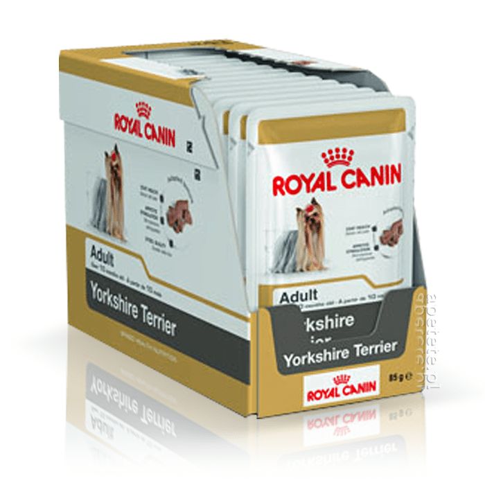 Karmy mokre dla psa - Royal Canin Yorkshire Terrier Adult 12x85g