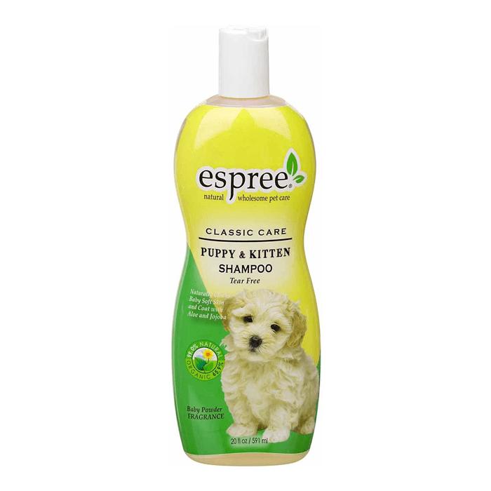 Higiena, pielęgnacja sierści - Espree Puppy & Kitten Shampoo Szampon dla szczeniąt i kociąt 355ml