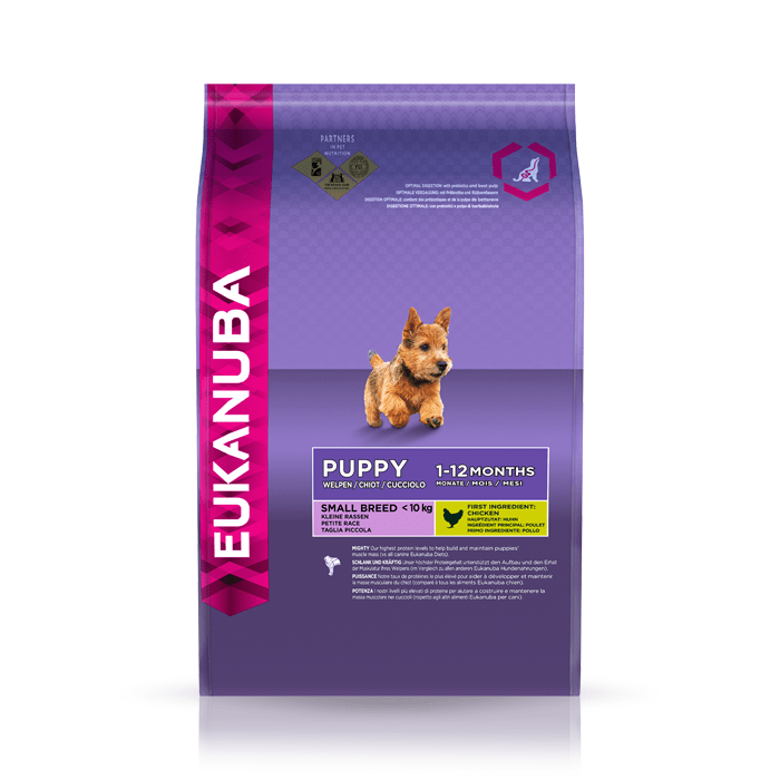 Karmy suche dla psa - Eukanuba Puppy & Junior Small Breed