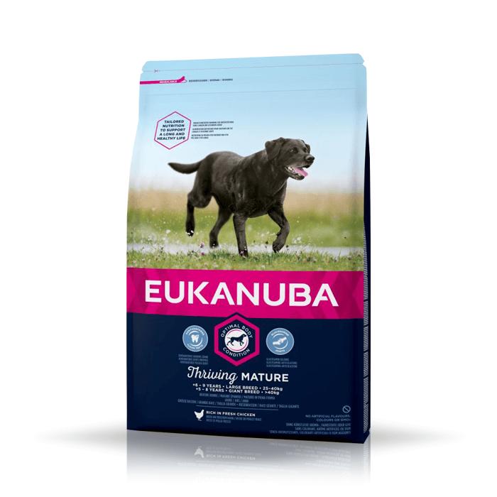 Karmy suche dla psa - Eukanuba Thriving Mature Large & Giant Breed 15kg