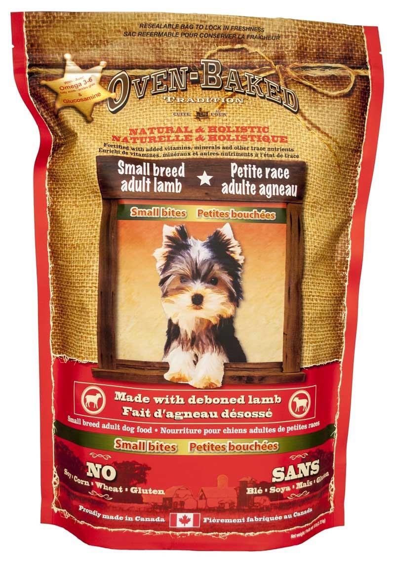 Karmy suche dla psa - Oven Baked Tradition jagnięcina małe rasy 2,27 kg