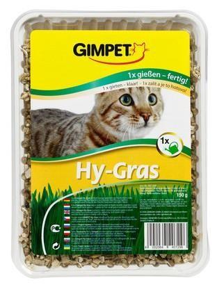 Przysmaki dla kota - Gimpet Hy-Grass trawa dla kota 150g