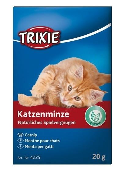 Suplementy - Trixie kocimiętka w proszku 20g