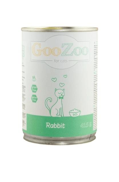 Karmy mokre dla kota - Goozoo bez zbóż 415g x 12