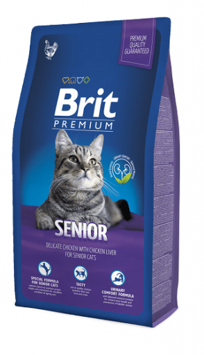 Karmy suche dla kota - Brit Premium Cat Senior