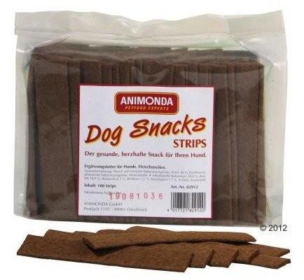 Przysmaki dla psa - Animonda DogSnacks Paski 100szt.