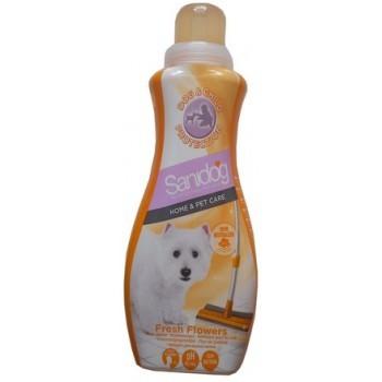 Produkty higieniczne - Sanidog Fresh Flowers - płyn do podłogi 1L