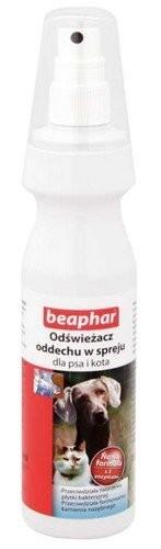 Higiena, pielęgnacja oczu, uszu, zębów - Beaphar Odświeżacz oddechu w sprayu dla psa i kota 150ml