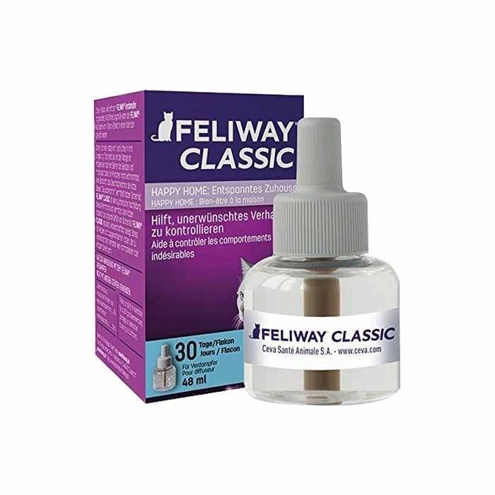Suplementy - Feliway Classic wkład uzupełniający 48 ml