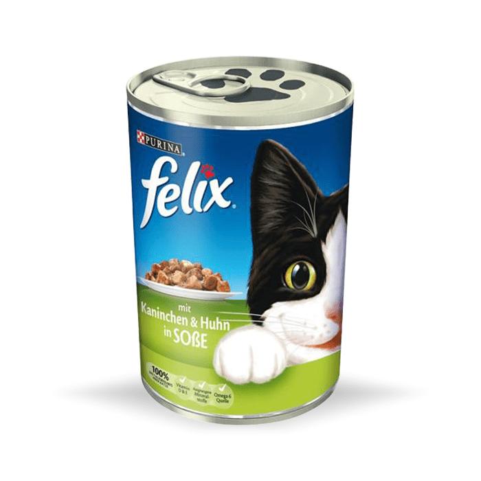 Karmy mokre dla kota - Felix w sosie 400g x 12