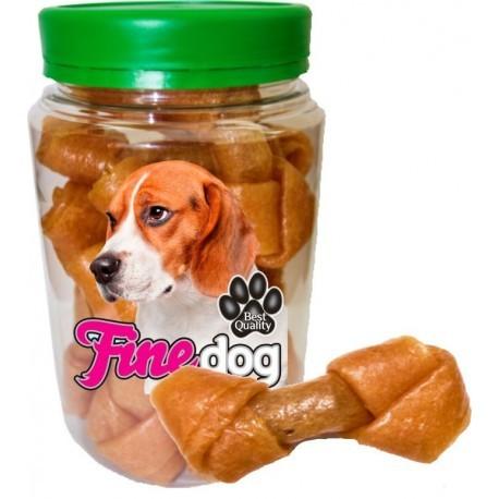 Przysmaki dla psa - Prozoo Fine Dog Węzeł miękki kaczka 11cm 350g