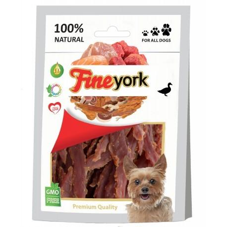 Przysmaki dla psa - Prozoo FineYork Duck Slices 80g