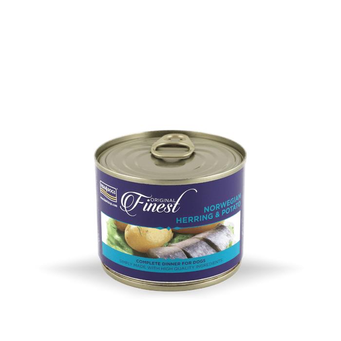 Karmy mokre dla psa - Fish4Dogs Wet Complete puszka 4 x 185g