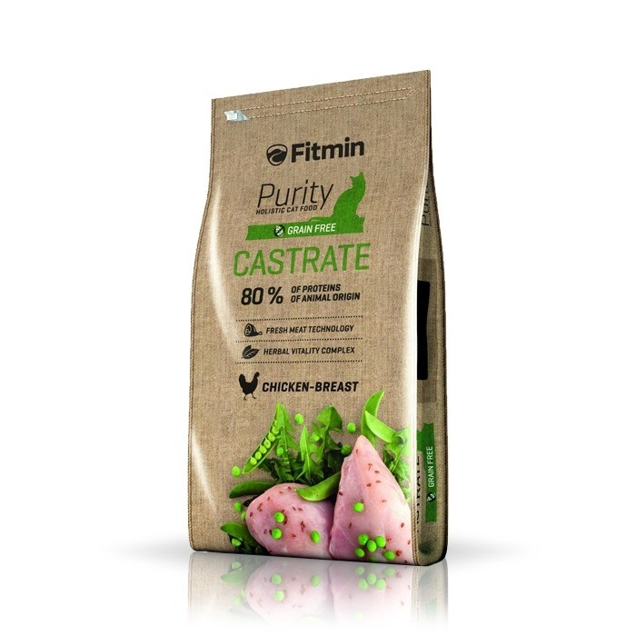Karmy suche dla kota - Fitmin Cat Purity Grain Free Castrate