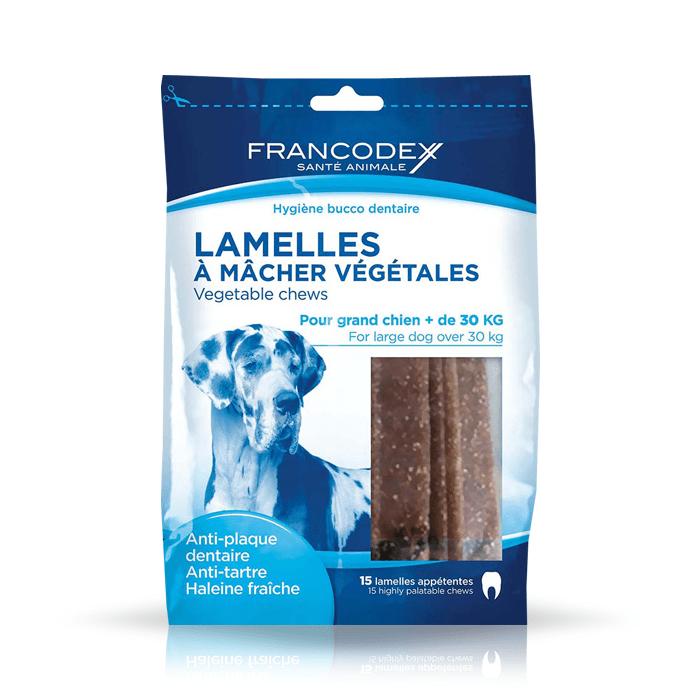 Przysmaki dla psa - Francodex paski Dental Large 490g 15szt.