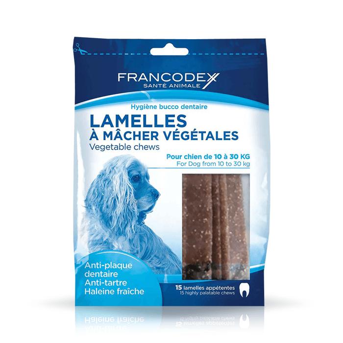 Przysmaki dla psa - Francodex paski Dental Medium 350g 15szt.