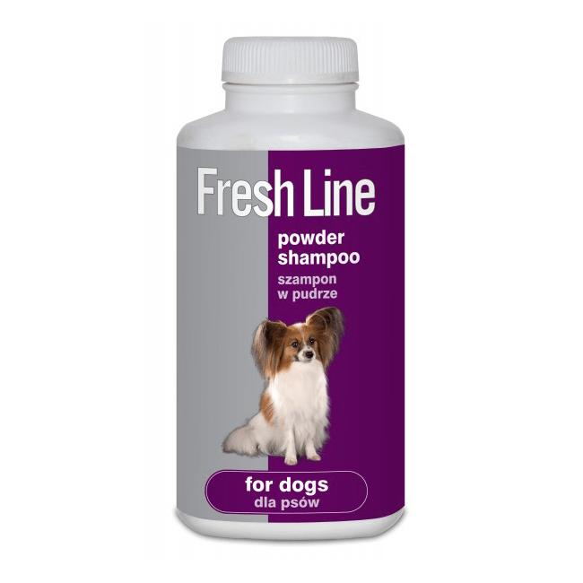 Higiena, pielęgnacja sierści - Fresh line Szampon suchy dla psa 250ml