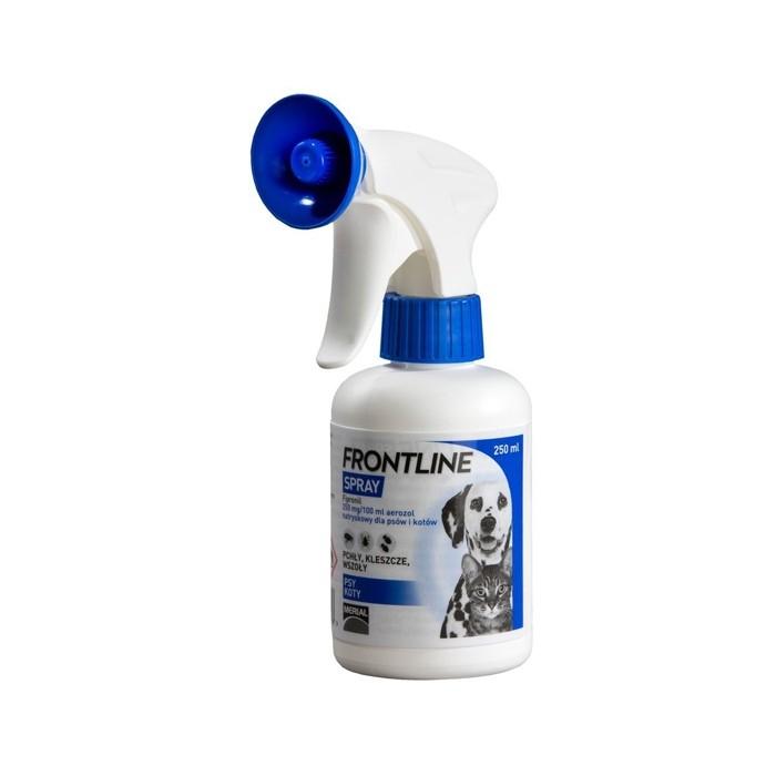 Preparaty lecznicze - Frontline 250ml spray dla psów i kotów