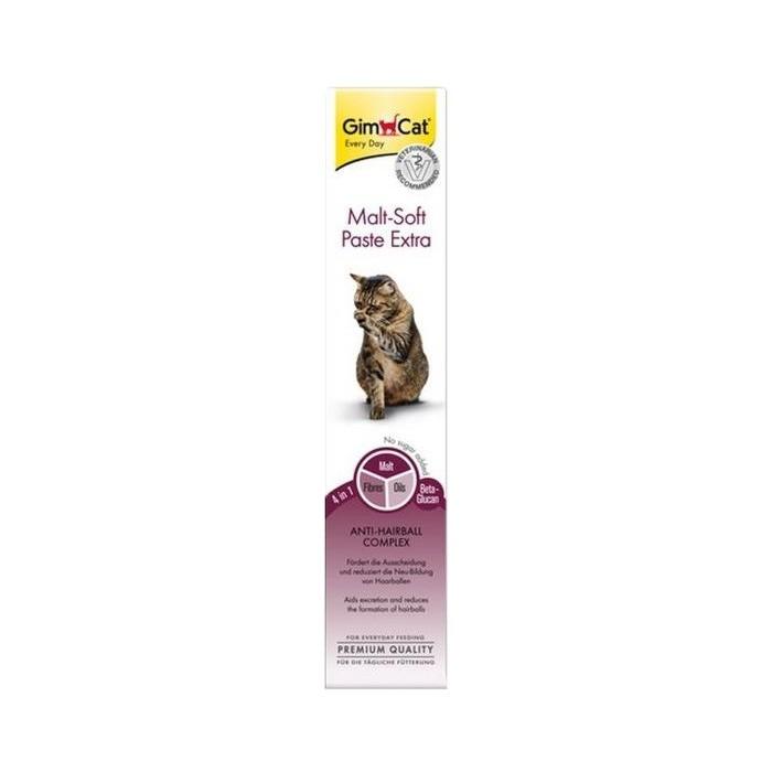 Preparaty lecznicze - Gimpet Malt-Soft TGOS Extra Pasta odkłaczająca dla kota