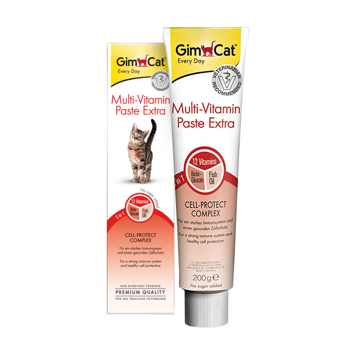 Suplementy - Gimpet Multiwitamina Pasta dla kotów 200g