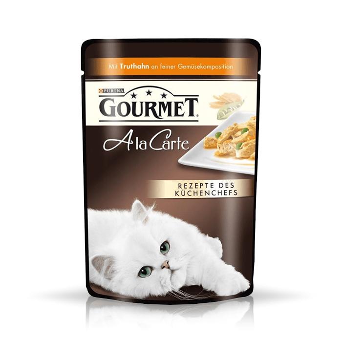 Karmy mokre dla kota - Gourmet A la Carte 12 x 85g