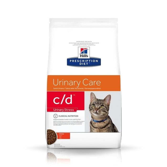 Karmy suche dla kota - Hill's Prescription Diet Feline c/d Urinary Care Stress z kurczakiem