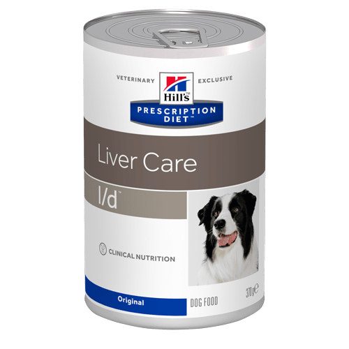 Karmy mokre dla psa - Hill's Prescription Diet Canine l/d Liver Care original 370g