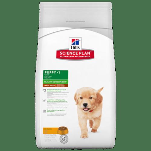 Karmy suche dla psa - Hill's Science Plan Healthy Development Puppy Large Chicken