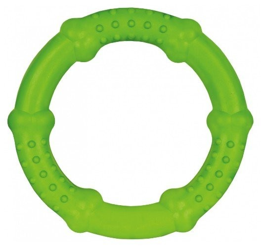 Zabawki - Trixie Ring gumowy 16cm