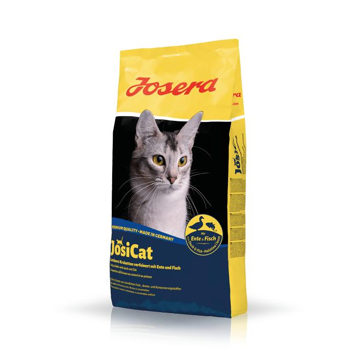 Karmy suche dla kota - Josera JosiCat Ente & Fisch Adult