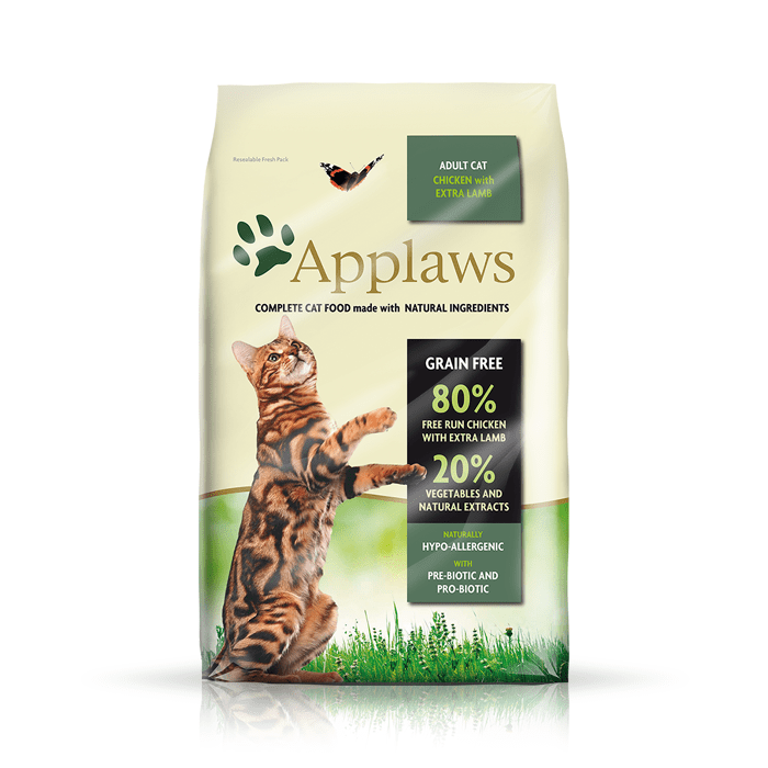 Karmy suche dla kota - Applaws Adult Chicken & Lamb