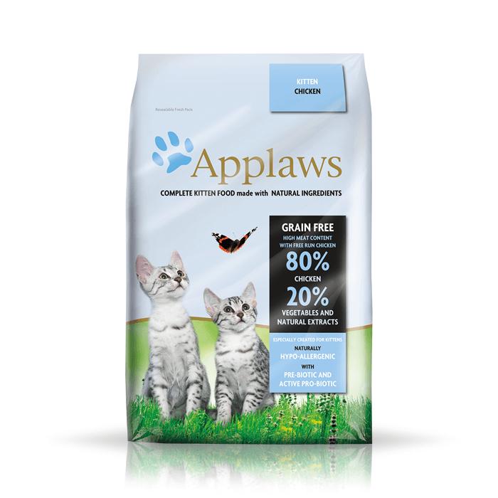 Karmy suche dla kota - Applaws Kitten