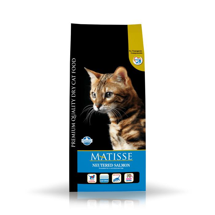 Karmy suche dla kota - Farmina Matisse Cat Neutered Salmon