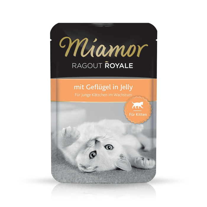 Karmy mokre dla kota - Miamor Ragout Royale Kitten w galaretce 100g x 12