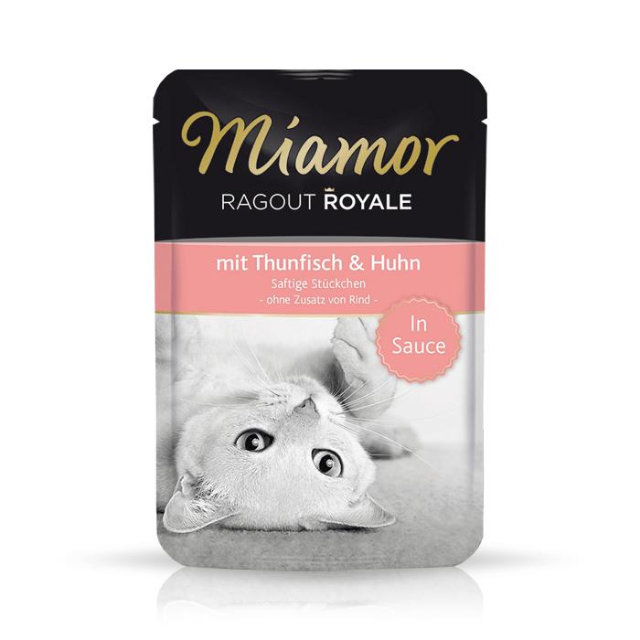 Karmy mokre dla kota - Miamor Ragout Royale w sosie 12 x 100g