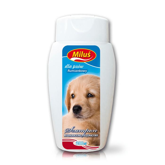 Higiena, pielęgnacja sierści - Miluś - szampon rumiankowy dla psa 200ml
