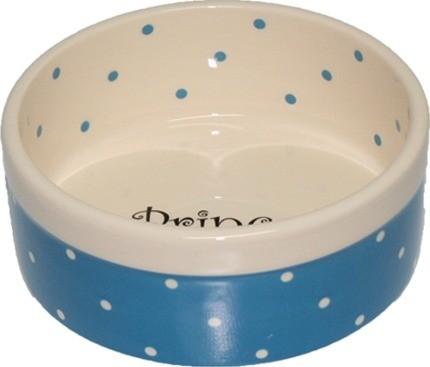 Miski i akcesoria do misek - Yarro Miska Ceramiczna Prince 13 x 5,5cm niebieska