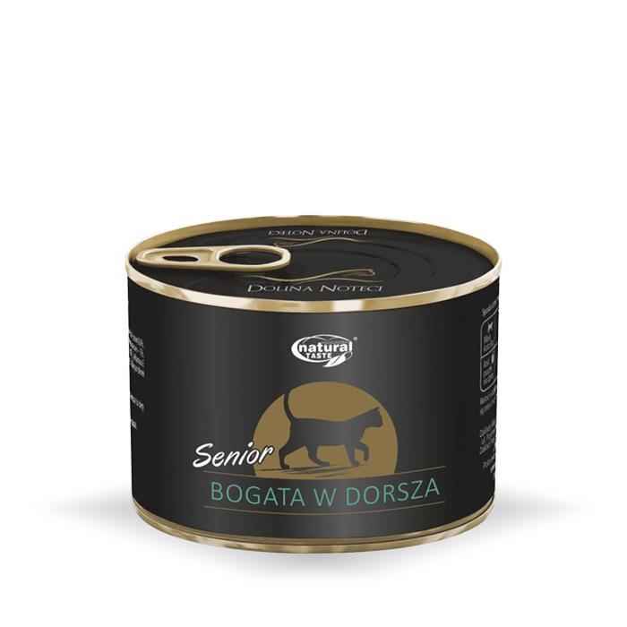 Karmy mokre dla kota - Natural Taste Senior 185g x 4