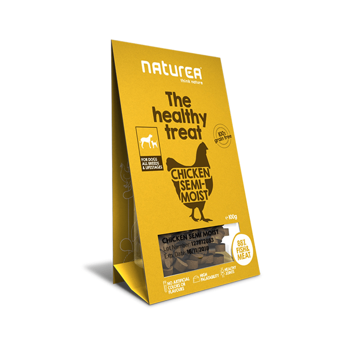 Przysmaki dla psa - Naturea Healthy Treat bezzbożowy z kurczakiem 100g