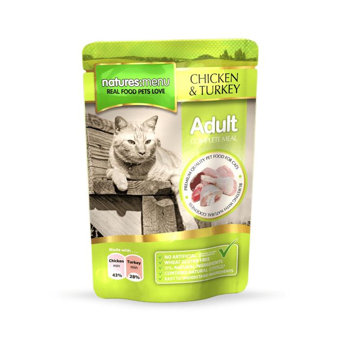 Karmy mokre dla kota - Natures Menu Adult 100g x 12