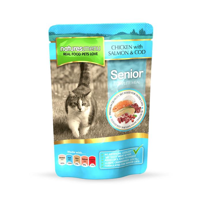 Karmy mokre dla kota - Natures Menu Senior 12 x 100g