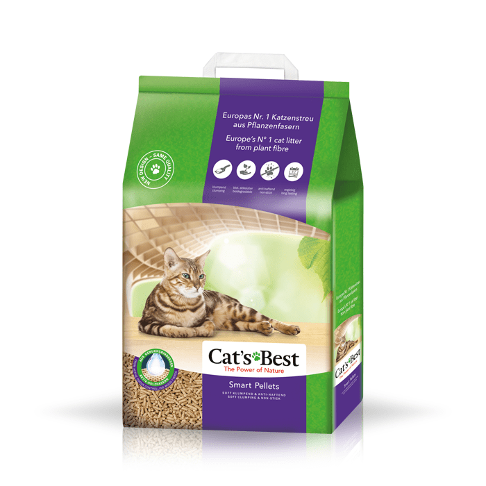 żwirek dla kota - Żwirek Cats Best Nature Gold - Smart Pellets