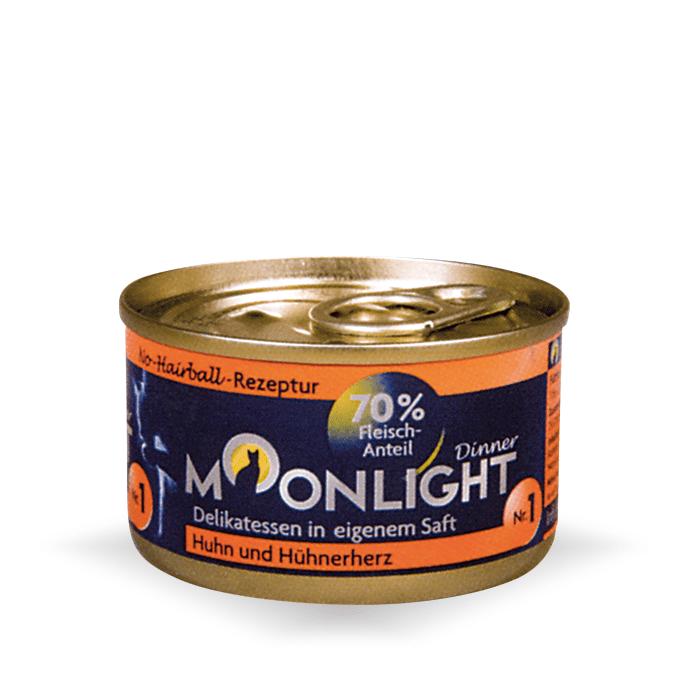 Karmy mokre dla kota - Moonlight Dinner puszka 12 x 80g