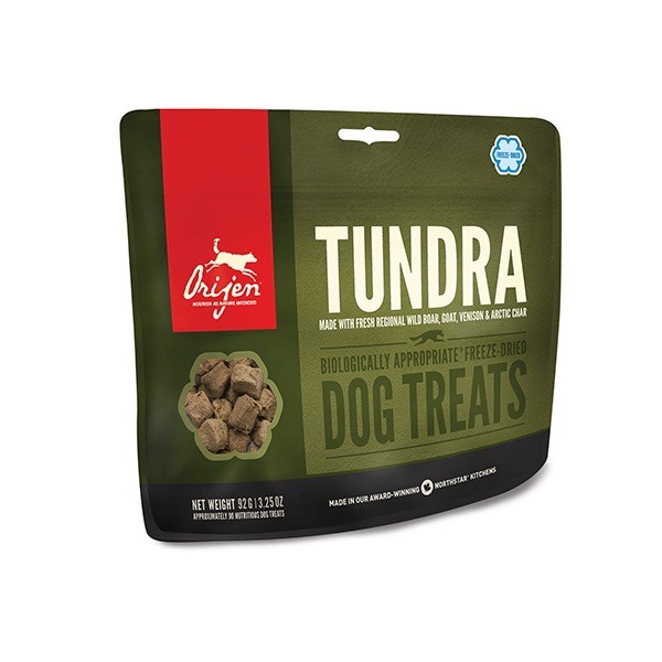 Przysmaki dla psa - Orijen Freeze Dried Tundra przysmak liofilizowany dla psa 42,5g
