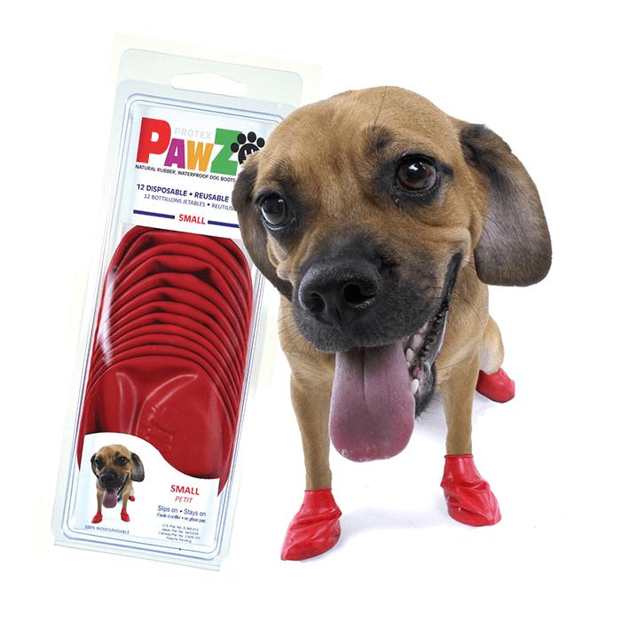 Ubranka dla psa - Pawz Obuwie gumowe [rozmiar S] 12szt.