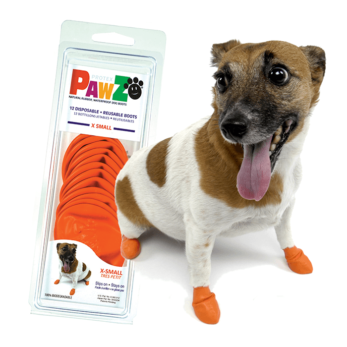 Ubranka dla psa - Pawz Obuwie gumowe [rozmiar XS] 12szt.
